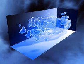 3D matière noire