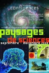 Affiche Paysages de science