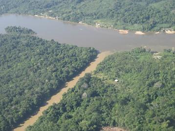 confluence de cours d'eau