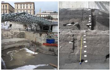 chantier fouilles