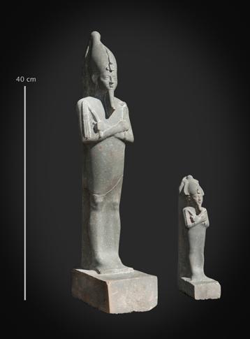 Statuette et figurine d'Osiris