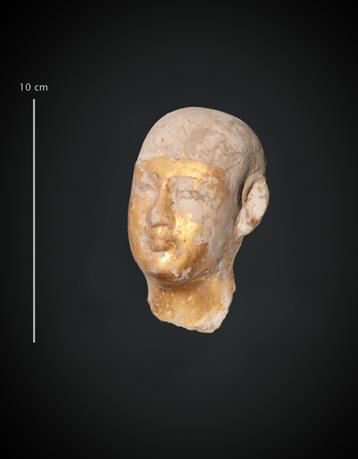 Tête de statue_Dieu Imhotep