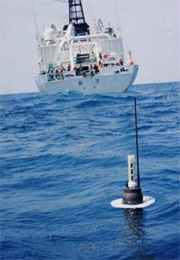 An Argo buoy.