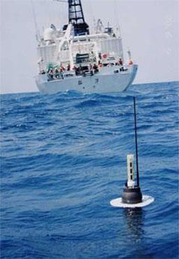 An Argo buoy.