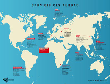 CNRS offices abroad