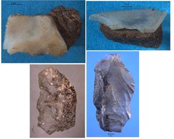 Chalcedony microliths