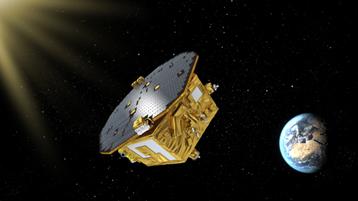 LISA Pathfinder in space