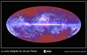 El mapa completo del cielo por Planck
