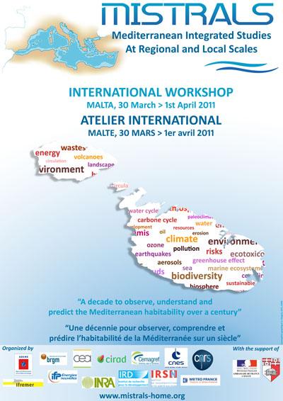 Cartel - Mistral - Taller Internacional - 30 marzo-1 abril, 2011