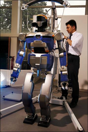 Cnrs Hosts The First Humanoid Robotics Platform To Be Set Up Outside Japan - Cnrs Web Site